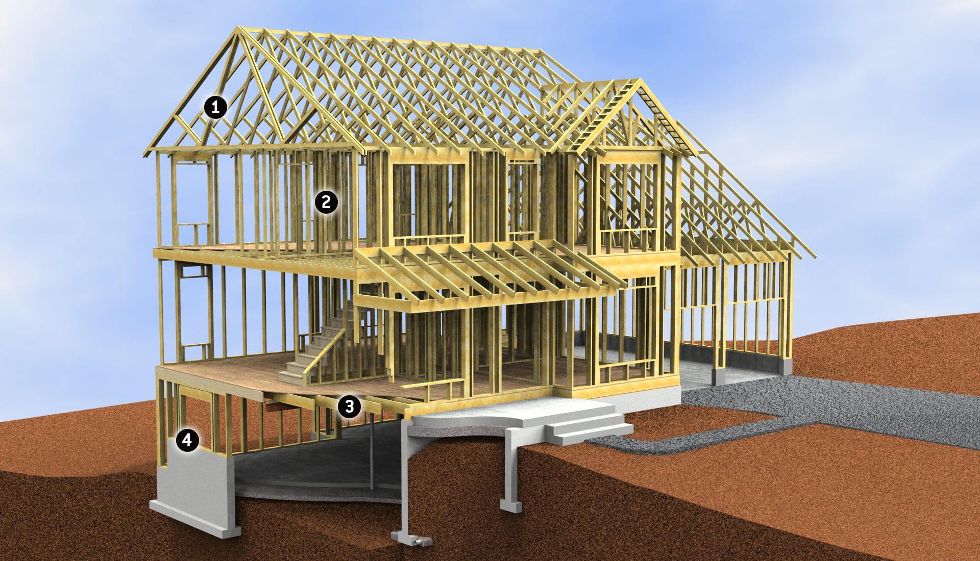 Berks Homes Smart Build - Berks Homes Smart Build - SB Framing